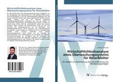 Bookcover of Wirtschaftlichkeitsanalyse eines Überwachungssystems für Rotorblätter