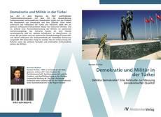 Demokratie und Militär in der Türkei kitap kapağı