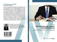 Обложка Die Stellung des GmbH-Geschäftsführers