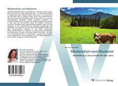 Bookcover of Moderation von Moderne