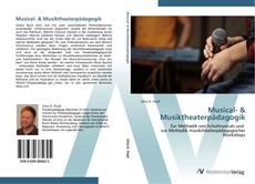Buchcover von Musical- & Musiktheaterpädagogik