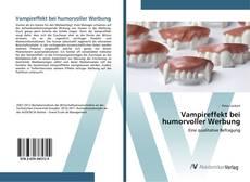 Buchcover von Vampireffekt bei humorvoller Werbung