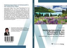 Bookcover of Verjüngungsanalyse im Schutzwald in den bayerischen Alpen