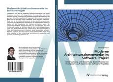 Copertina di Moderne Architekturrahmenwerke im Software-Projekt