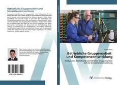 Portada del libro de Betriebliche Gruppenarbeit und Kompetenzentwicklung