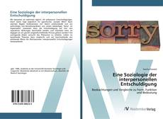 Eine Soziologie der interpersonellen Entschuldigung kitap kapağı
