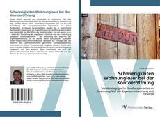 Capa do livro de Schwierigkeiten Wohnungloser bei der Kontoeröffnung