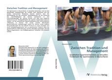 Bookcover of Zwischen Tradition und Management
