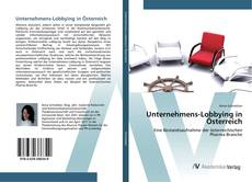Capa do livro de Unternehmens-Lobbying in Österreich