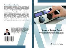 Bookcover of Remote Service Quality