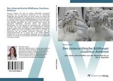 Portada del libro de Der österreichische Bildhauer Gustinus Ambrosi