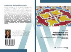 Bookcover of Prädiktoren der Produktpiraterie
