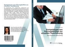Kompetenzen von Führungskräften zur virtuellen Teamführung kitap kapağı