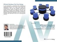Efficient Database  Test Case Design的封面