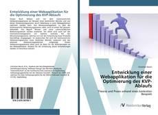 Buchcover von Entwicklung einer Webapplikation für die Optimierung des KVP-Ablaufs