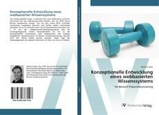 Buchcover von Konzeptionelle Entwicklung eines webbasierten Wissenssystems