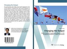 Bookcover of Changing the Output
