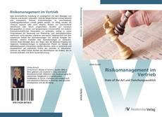 Buchcover von Risikomanagement im Vertrieb