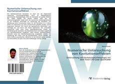Buchcover von Numerische Untersuchung von Kavitationseffekten