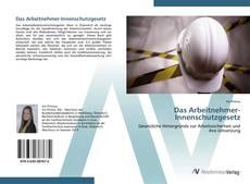 Buchcover von Das Arbeitnehmer-Innenschutzgesetz