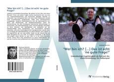 """Capa do livro de """"Wer bin ich? [...] Das ist echt 'ne gute Frage!"""""""