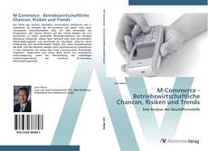 Capa do livro de M-Commerce - Betriebswirtschaftliche Chancen, Risiken und Trends