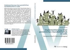 Buchcover von Implementierung einer persönlichen Handbibliothek in ezDL