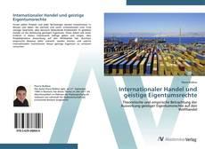 Bookcover of Internationaler Handel und geistige Eigentumsrechte