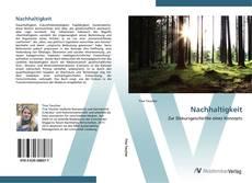 Bookcover of Nachhaltigkeit