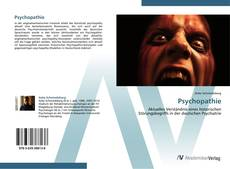 Bookcover of Psychopathie