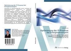 Bookcover of Optimierung der IT-Prozesse bei Energieversorgern