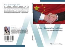 Sport-Sponsoring in China kitap kapağı