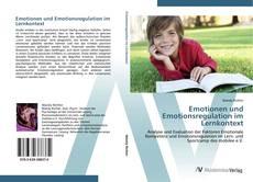 Capa do livro de Emotionen und Emotionsregulation im Lernkontext