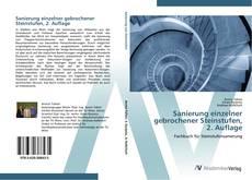Couverture de Sanierung einzelner gebrochener Steinstufen,  2. Auflage