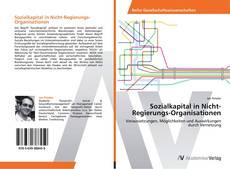 Bookcover of Sozialkapital in Nicht-Regierungs-Organisationen