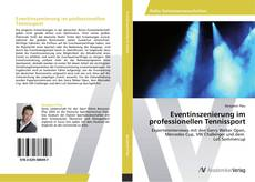 Bookcover of Eventinszenierung im professionellen Tennissport
