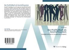 Buchcover von Der Profifußball als Geschäftssystem