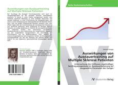Buchcover von Auswirkungen von Ausdauertraining auf Multiple Sklerose Patienten
