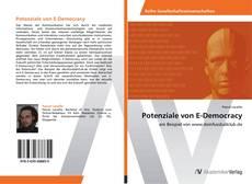 Buchcover von Potenziale von E-Democracy