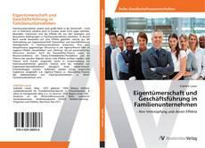 Portada del libro de Eigentümerschaft und Geschäftsführung in Familienunternehmen
