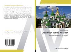 Ukrainisch kontra Russisch kitap kapağı