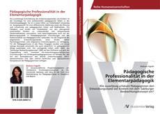 Buchcover von Pädagogische Professionalität in der Elementarpädagogik