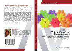 """Buchcover von """"Viel-Harmonie"""" im Klassenzimmer"""