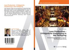Portada del libro de Lean Production - Erfolgreiche Umsetzung in der Fertigung