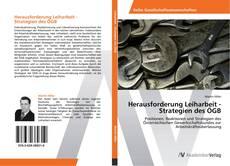 Buchcover von Herausforderung Leiharbeit - Strategien des ÖGB