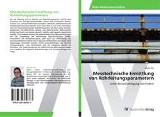 Buchcover von Messtechnische Ermittlung von Rohrleitungsparametern