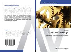 Bookcover of Front-Loaded Design