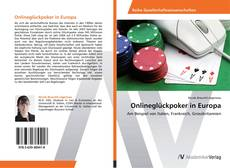 Bookcover of Onlineglückpoker in Europa