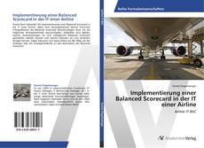 Capa do livro de Implementierung einer Balanced Scorecard in der IT einer Airline