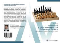 Capa do livro de Kooperative Konfliktbewältigung im Volkswagen-Konzern